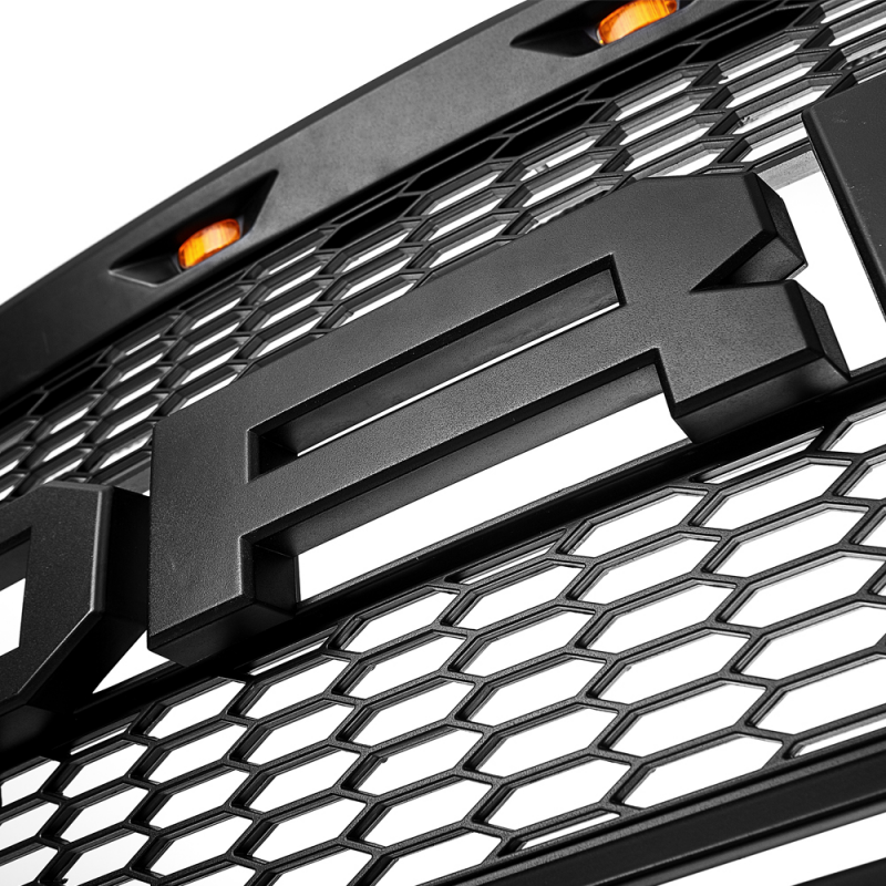 2009-2014 Ford F150 Grill Replacement Black Raptor Style