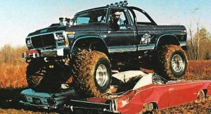 modified car-bigfoot